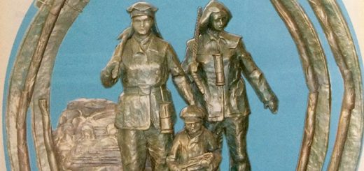Памятник женщинам-шахтерам
