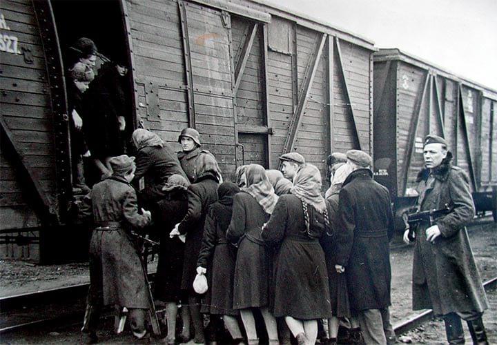 немецкое рабство мужчин у женщин