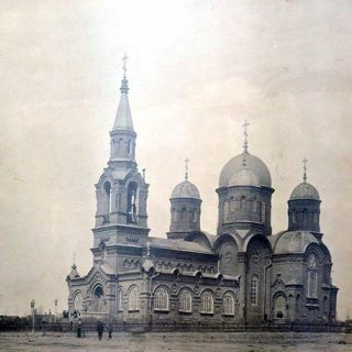 Свято-Преображенская церковь в Юзовке