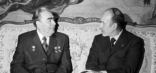 Брежнев и д'Эстен